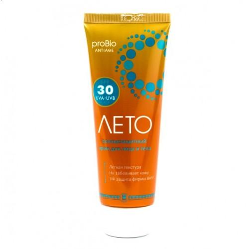Купить Крем солнцезащитный «Лето» SPF 30 Арго